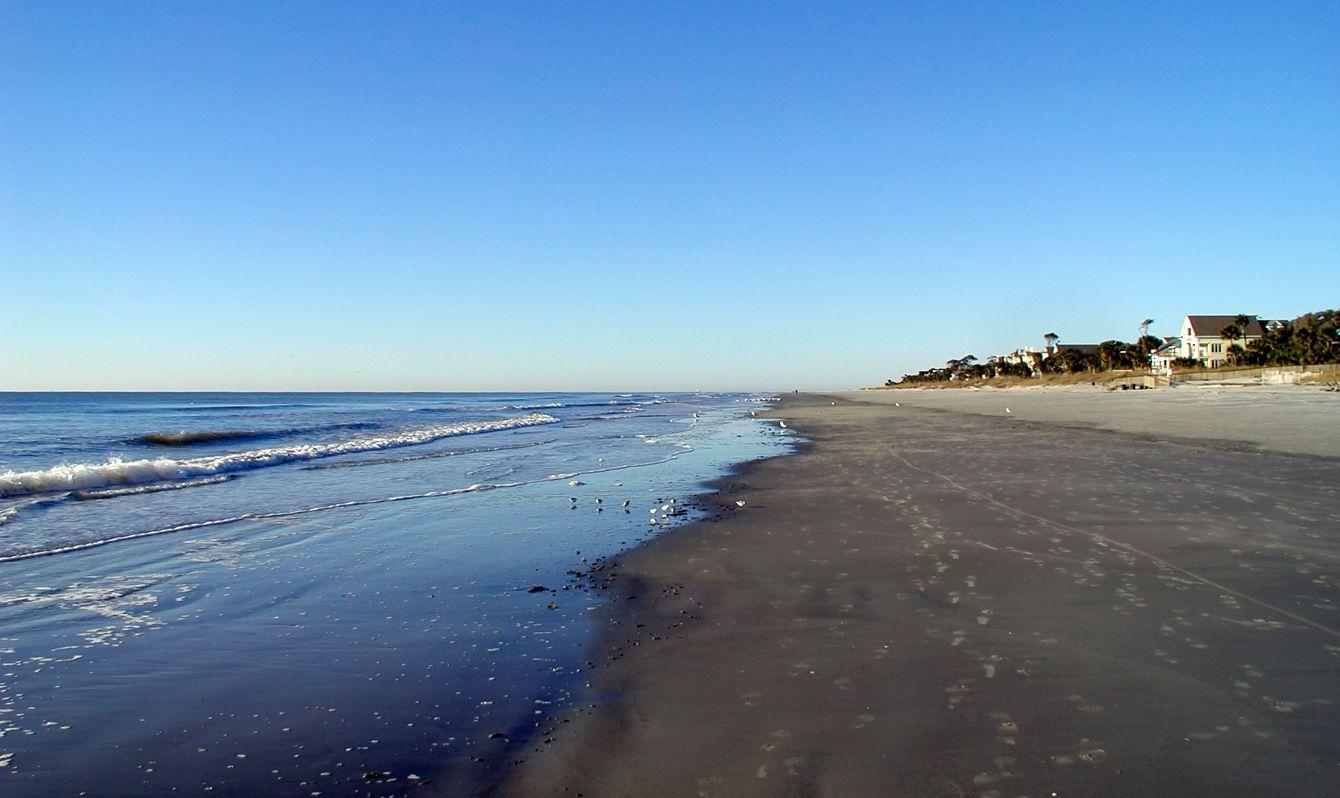 Atlantic ocean in Hilton Head, South Carolina