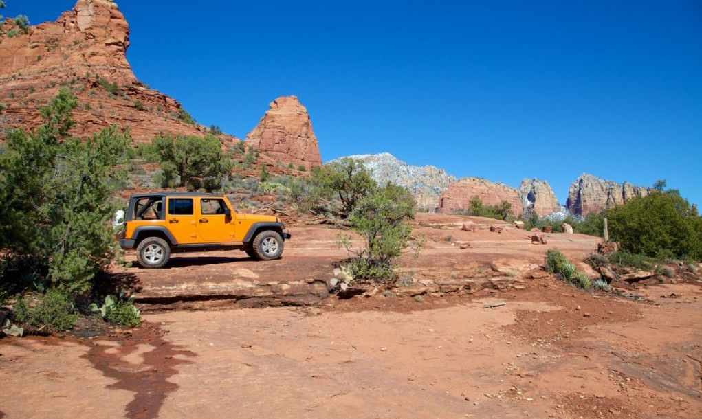 Jeep tour Sedona