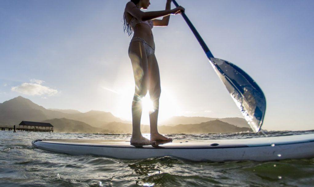paddleboard Kauai
