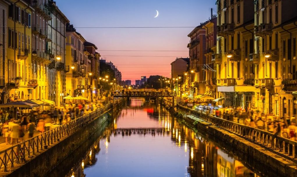 canals Milan