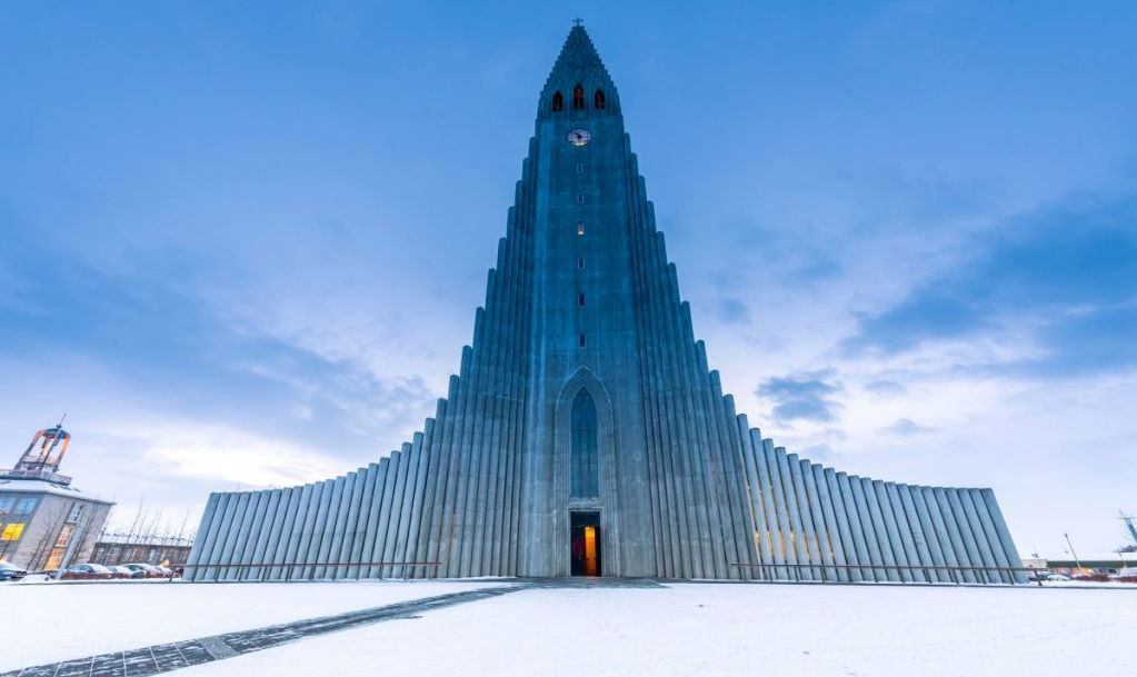 Hallgrimskirkja Reykjavik Iceland Church