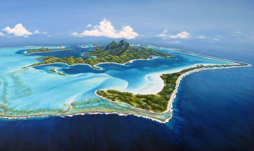exploring Bora Bora