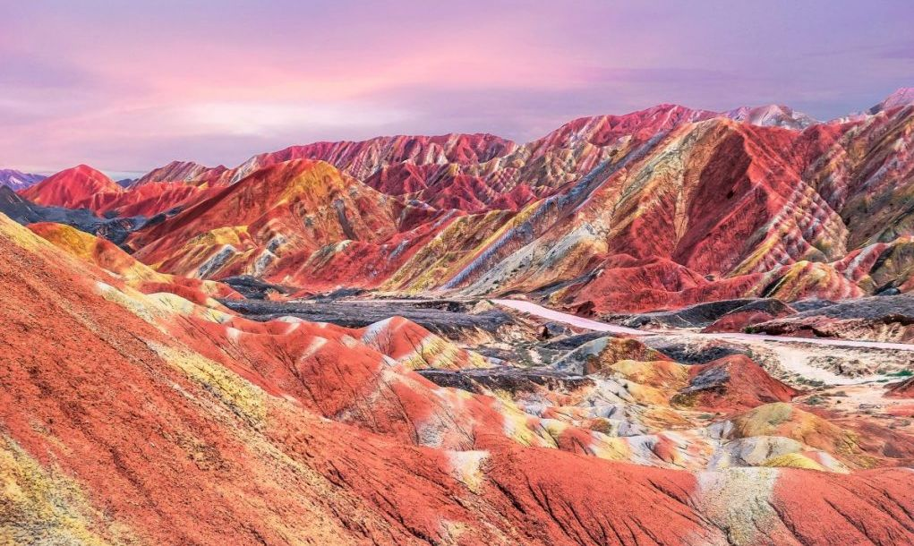 china's rainbow mountains