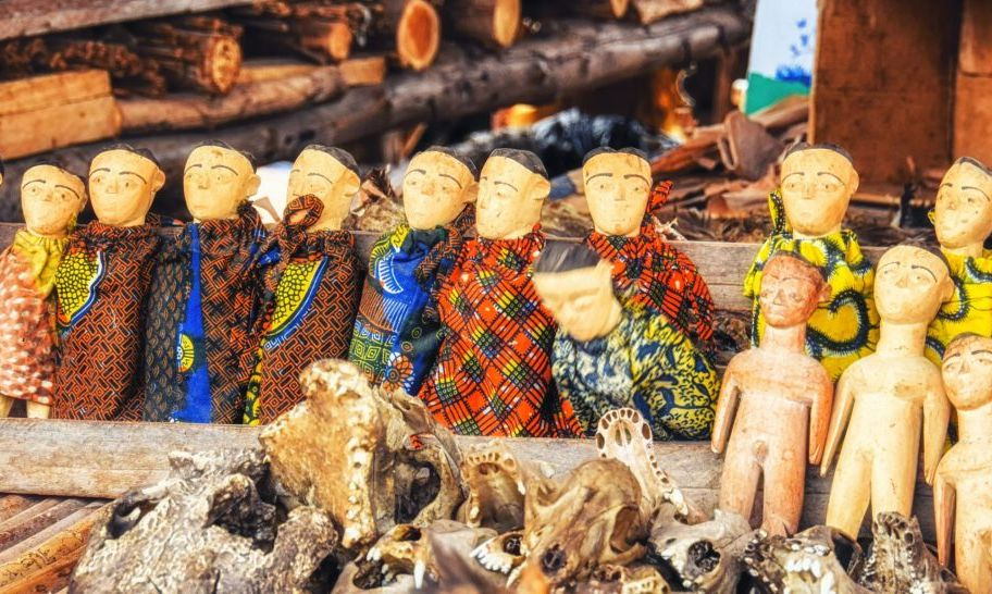 fetish market voodoo