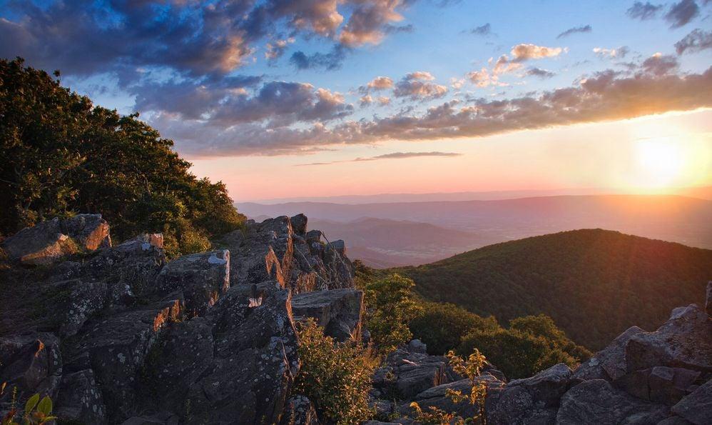 hawksbill Shenandoah National Park