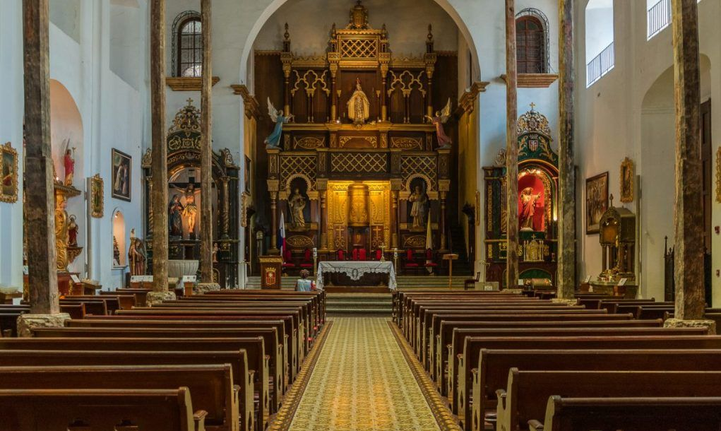 san jose gold altar