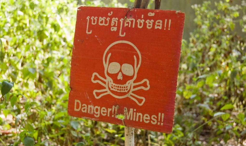 landmines museum orphans khmer rouge