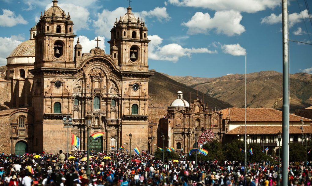 Festival in Cusco, Peru