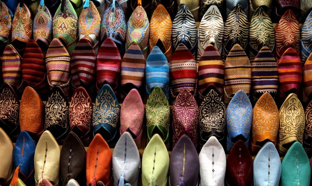 Shoes for sale, Casablanca