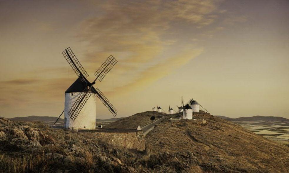 Windmills at Consuegra Spain