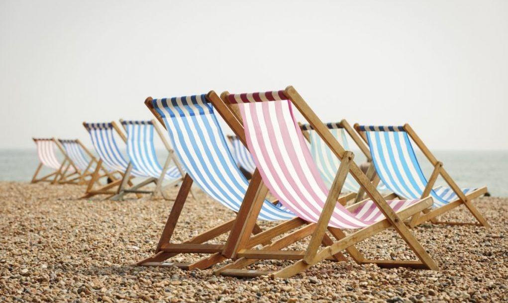 brighton beach deck chairs