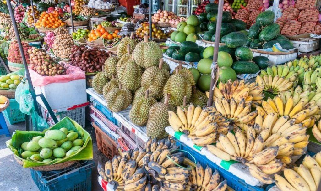 cambodia phnom market travel