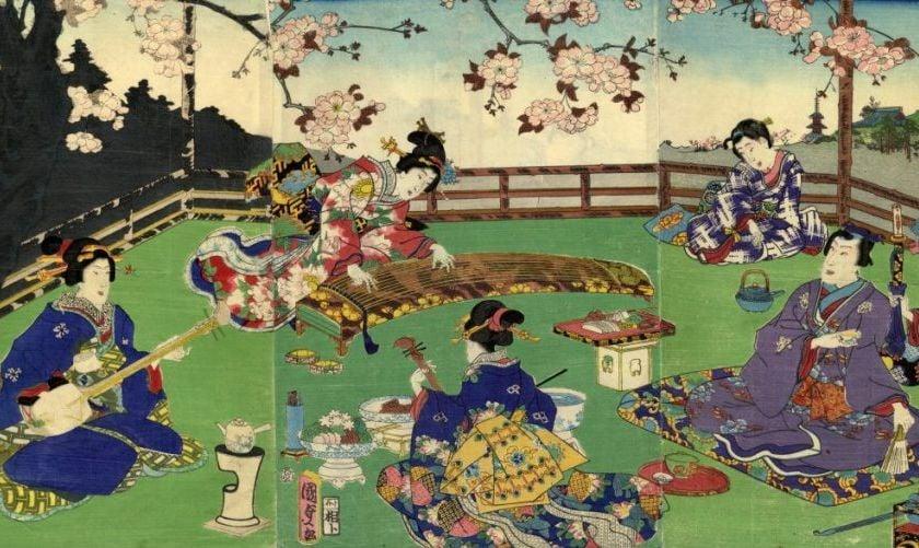 Ukiyoe art