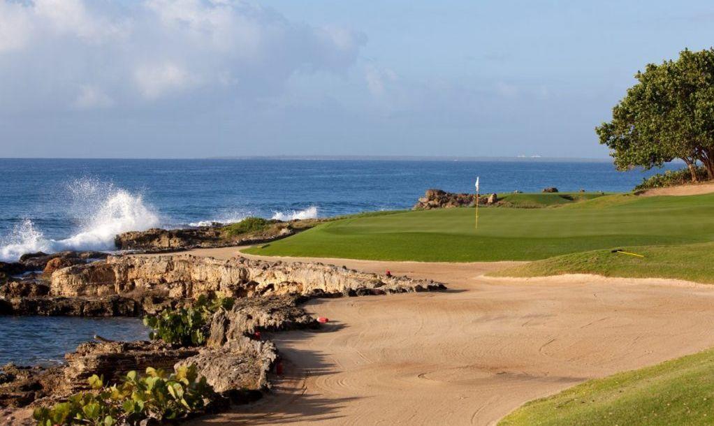 golf course ocean