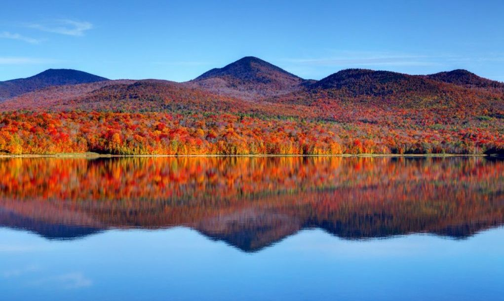 scenic lake in vermont