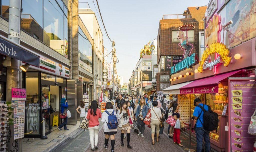 harajuku boutiques stores
