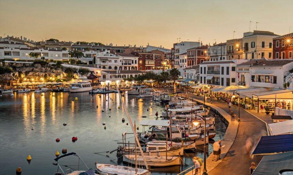 Es Castells town in Menorca