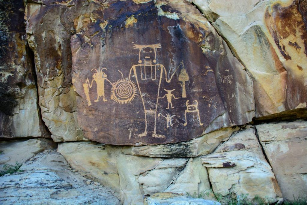 rock carving hiking trails