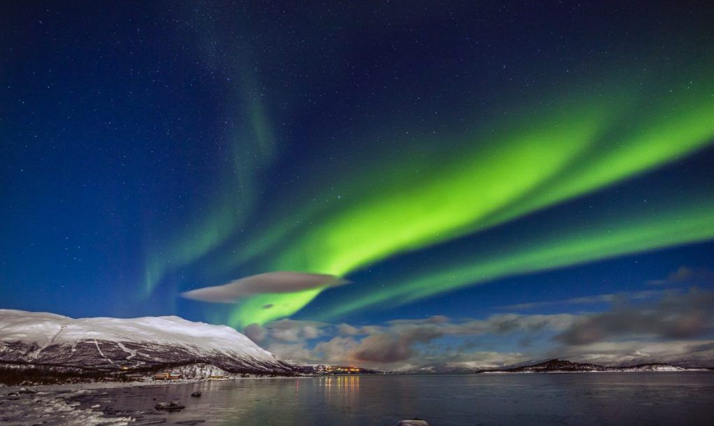 Northern Lights in Lapland, Sweden
