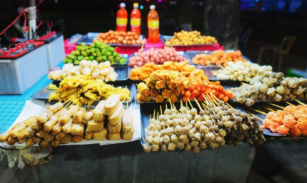 Street food Thailand travel