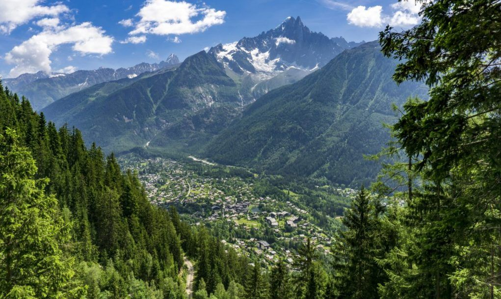 chamonix valley france