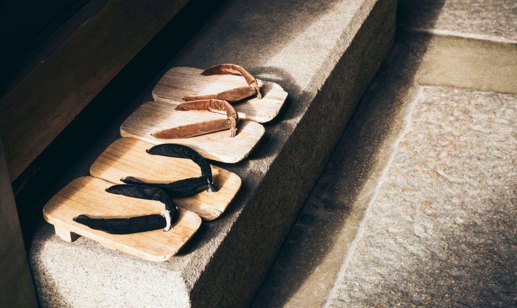 shoes off indoors Japan tatami mats