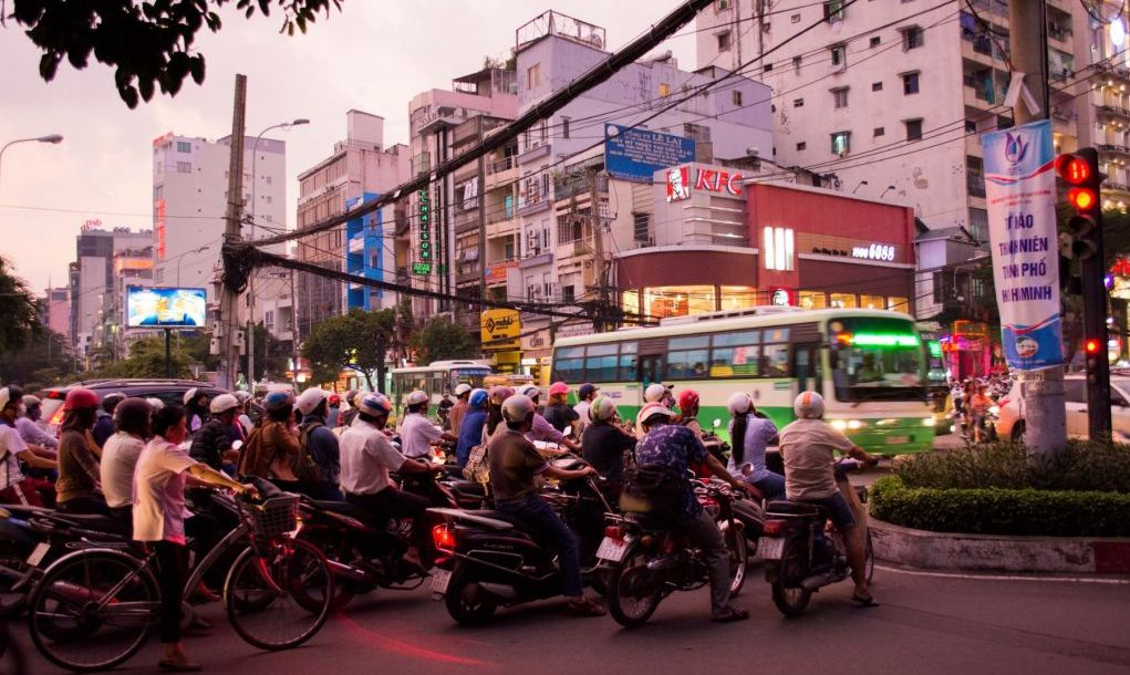 Ho Chi Minh City bike