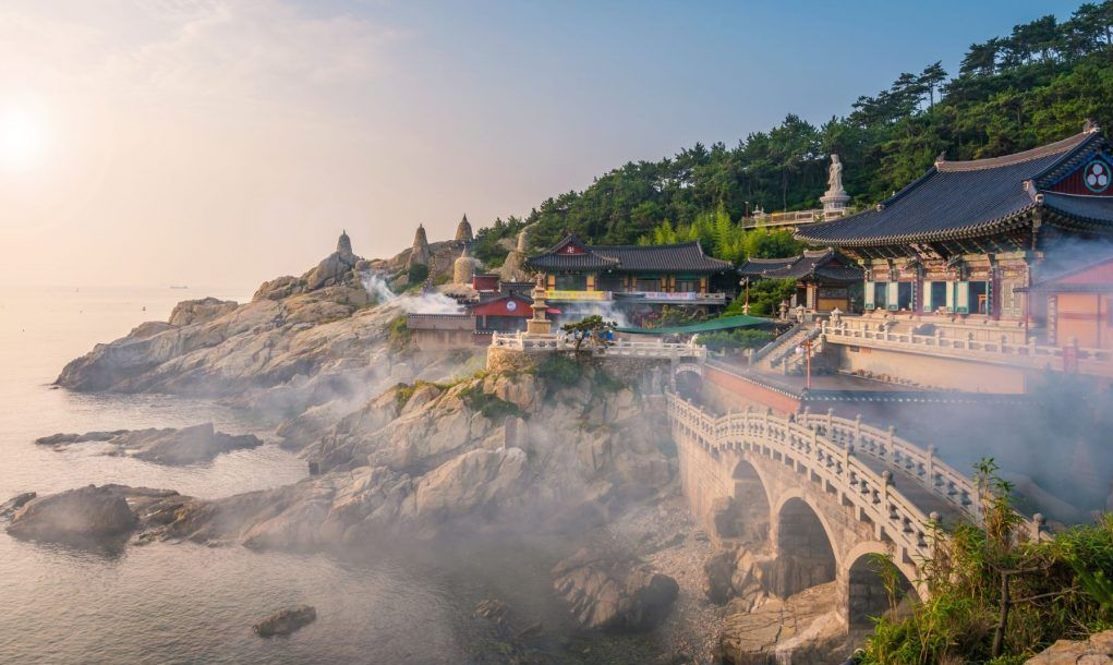 Haedong Yonggungsa Temple in Busan, South Korea
