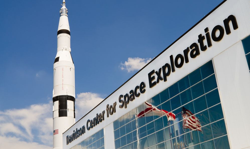 "Visit ""Rocket City"" for space-themed excitement"