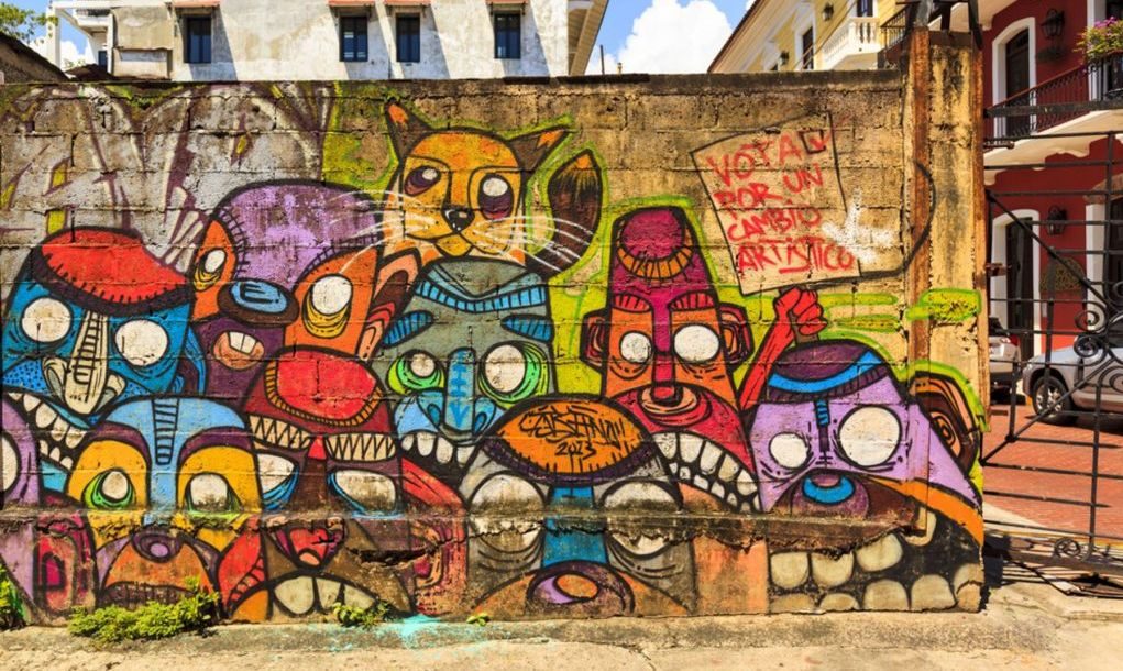 art graffiti casco viejo