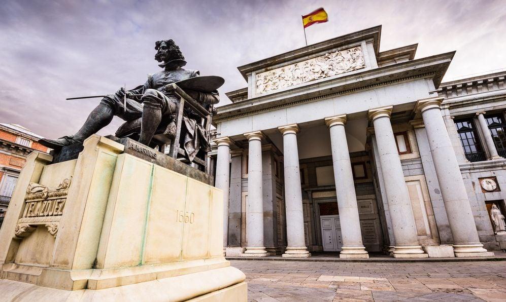 The Prado Museum facade