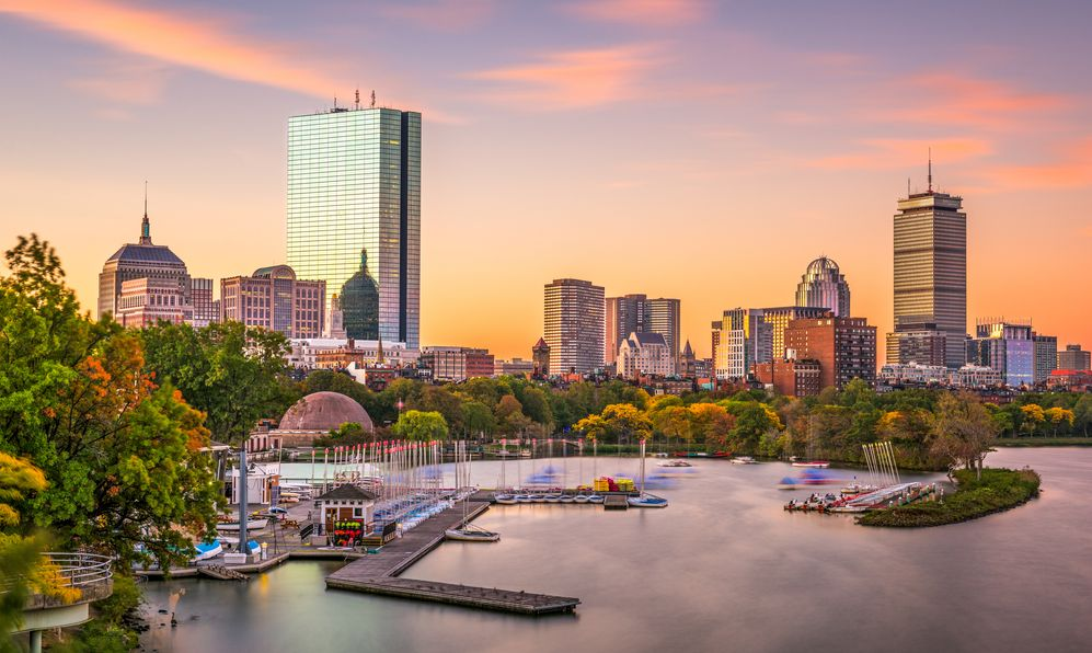 Boston, Massachusetts, USA skyline