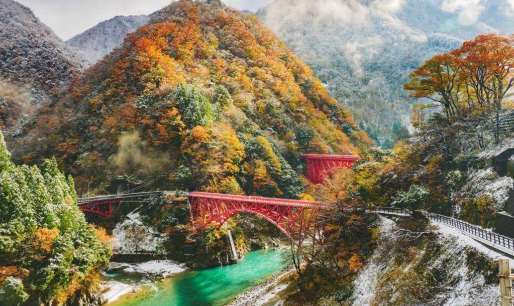 kurobe gorge river