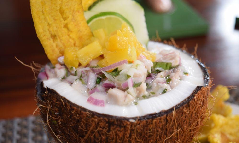 ceviche in Panama