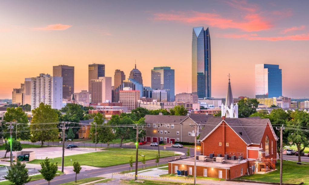 Downtown Oklahoma City skyline
