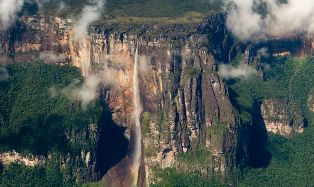 angel falls tallest waterfall venezuela