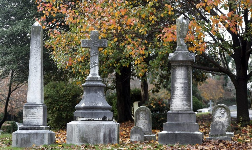 Hollywood cemetery Virginia