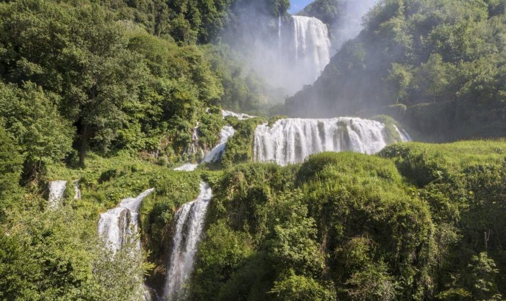 cascata delle marmore italy man-made