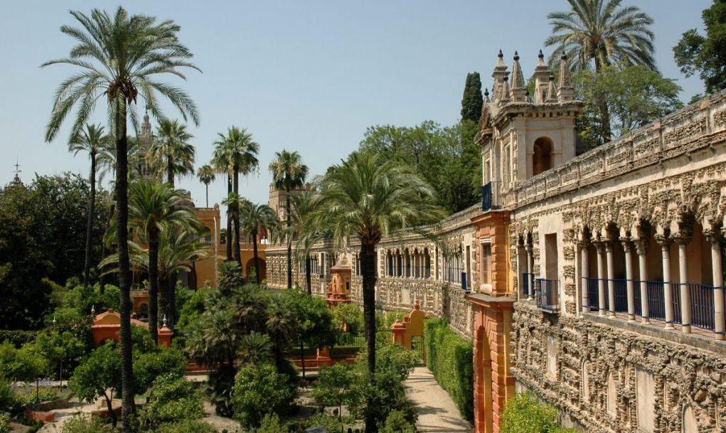 Alcazar Seville Dorne water palace