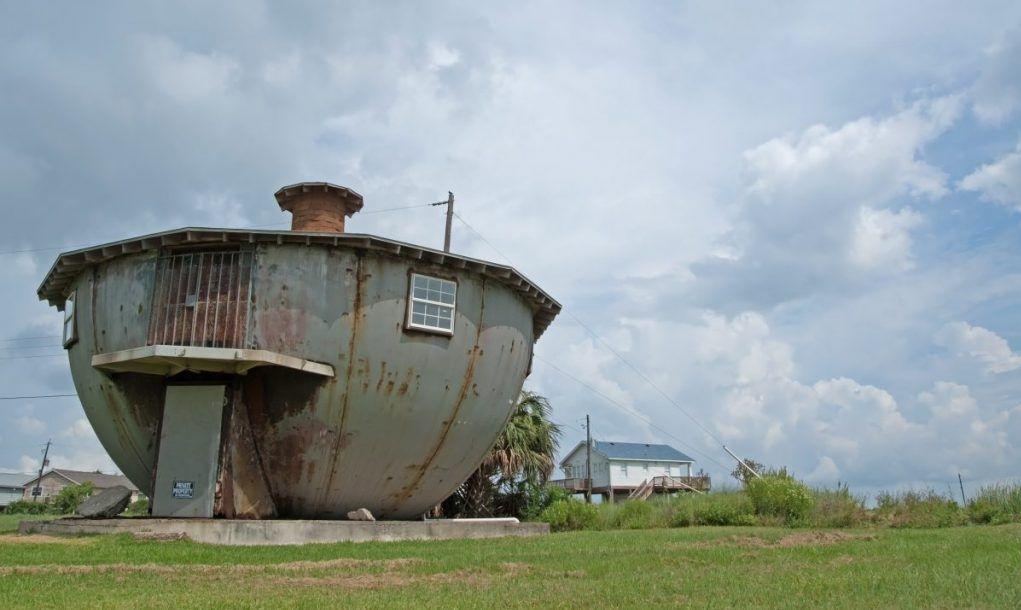 The unique kettle house in Galveston