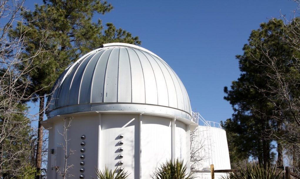 Lowell Observatory telescope dome