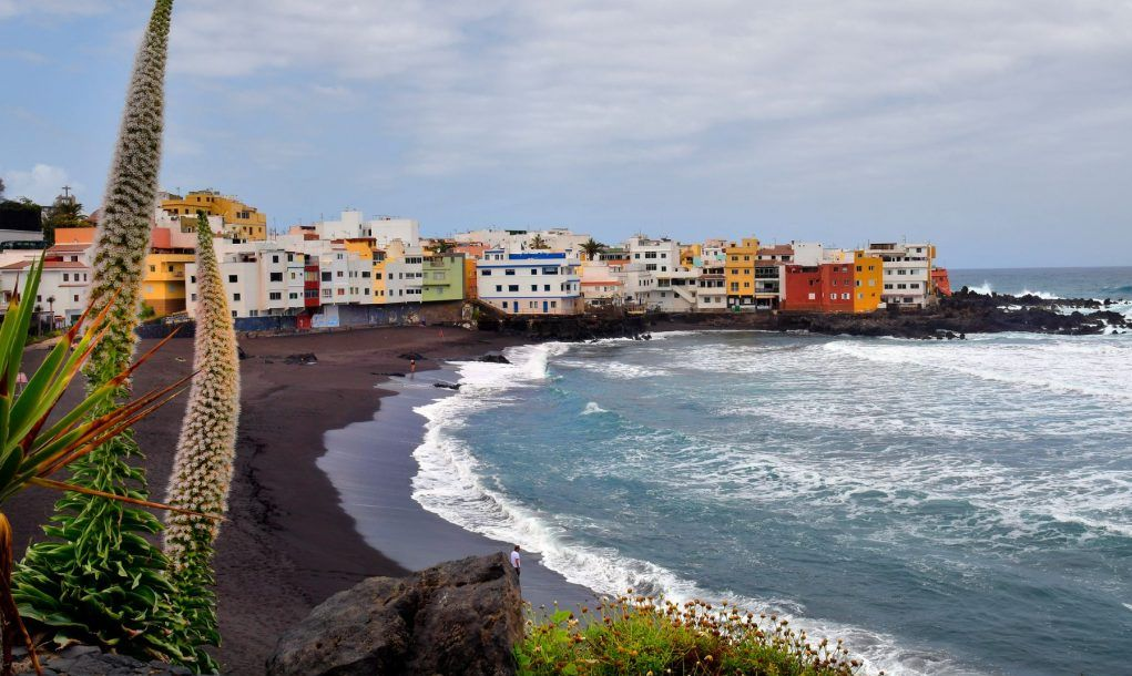 Playa Jardín. Tenerife, Canary Islands