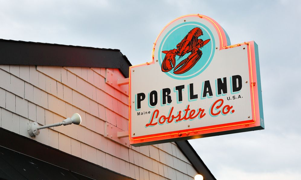 Portland Lobster Company is a historical seasonal waterside lobster shack at Portland, ME