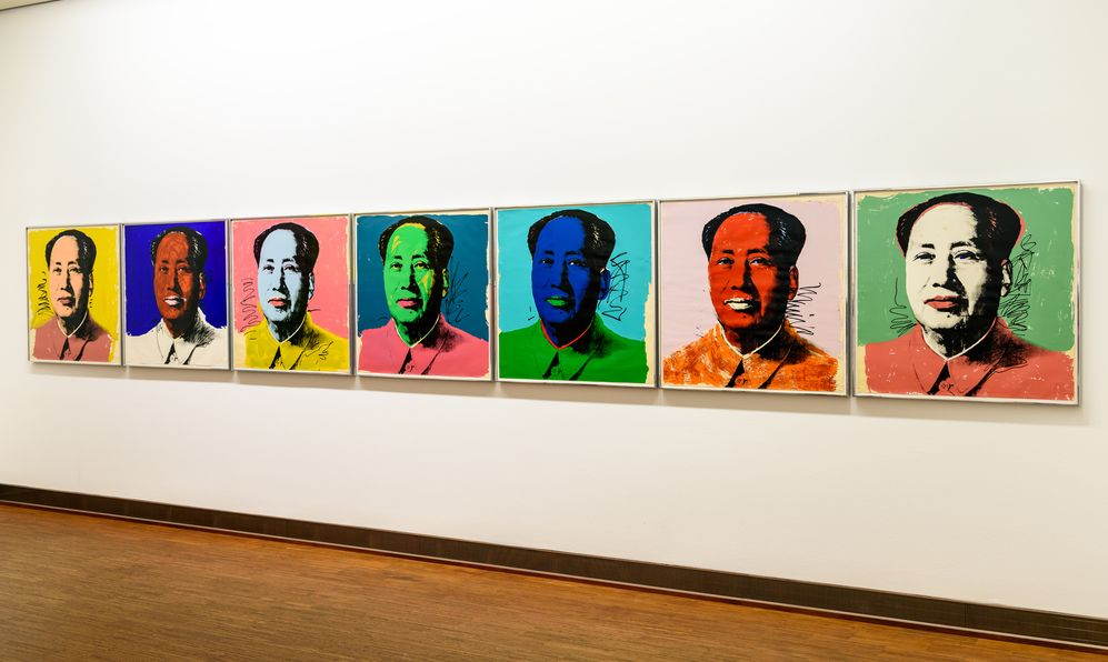 Andy Warhol Mao Tse-Tung Paintings