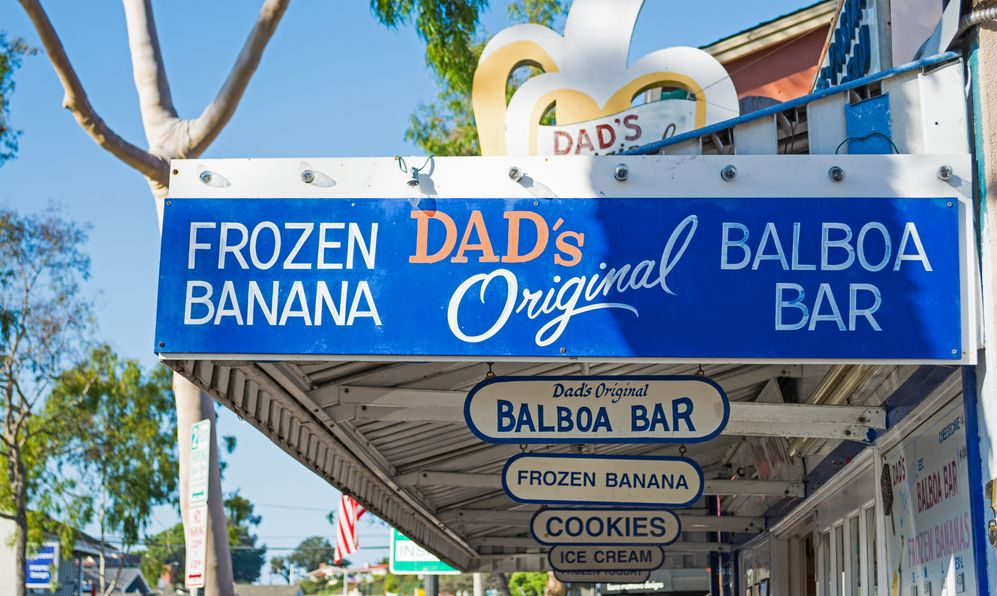 frozen banana stand