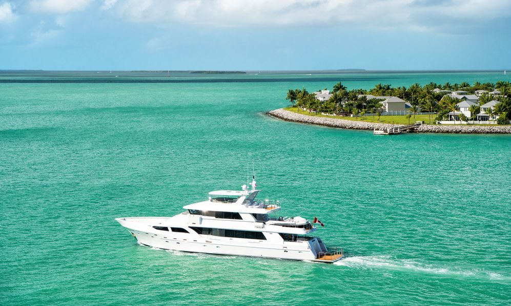 key west yacht tour