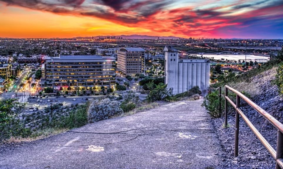 Sunset at the Mill, Tempe/Phoenix, Arizona