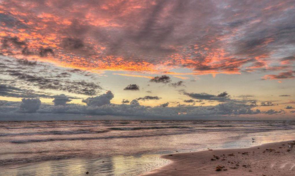 Sunrise from Corpus Christi