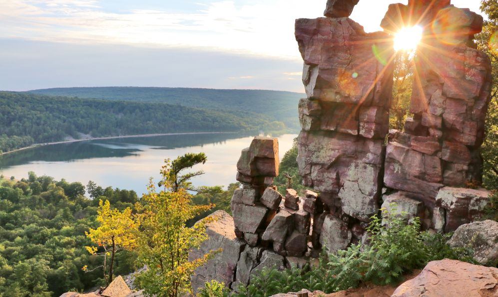 Devil's Lake State Park, Baraboo area, Wisconsin