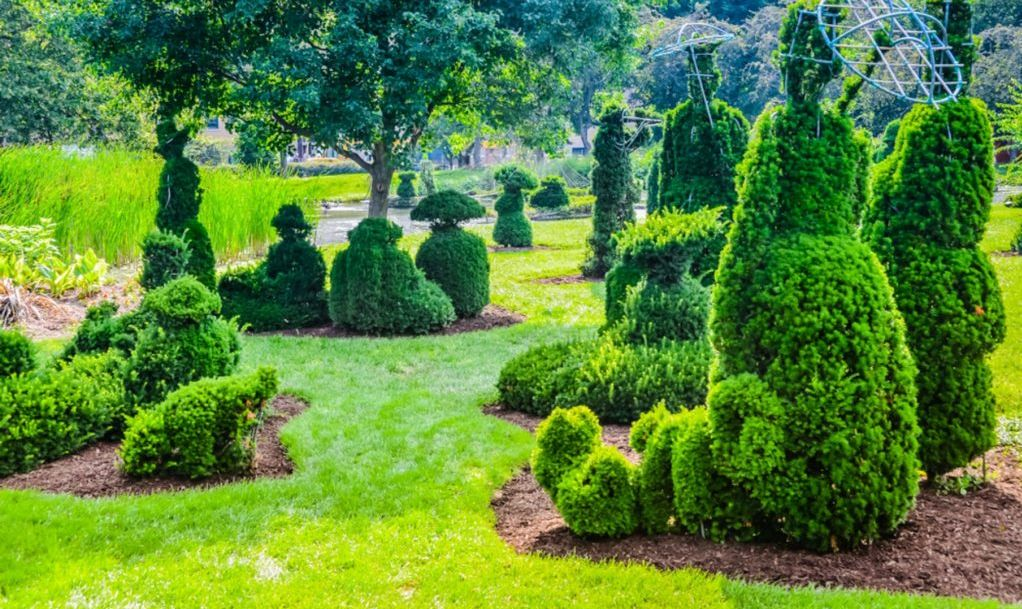 The Topiary Garden Park in Columbus, Ohio
